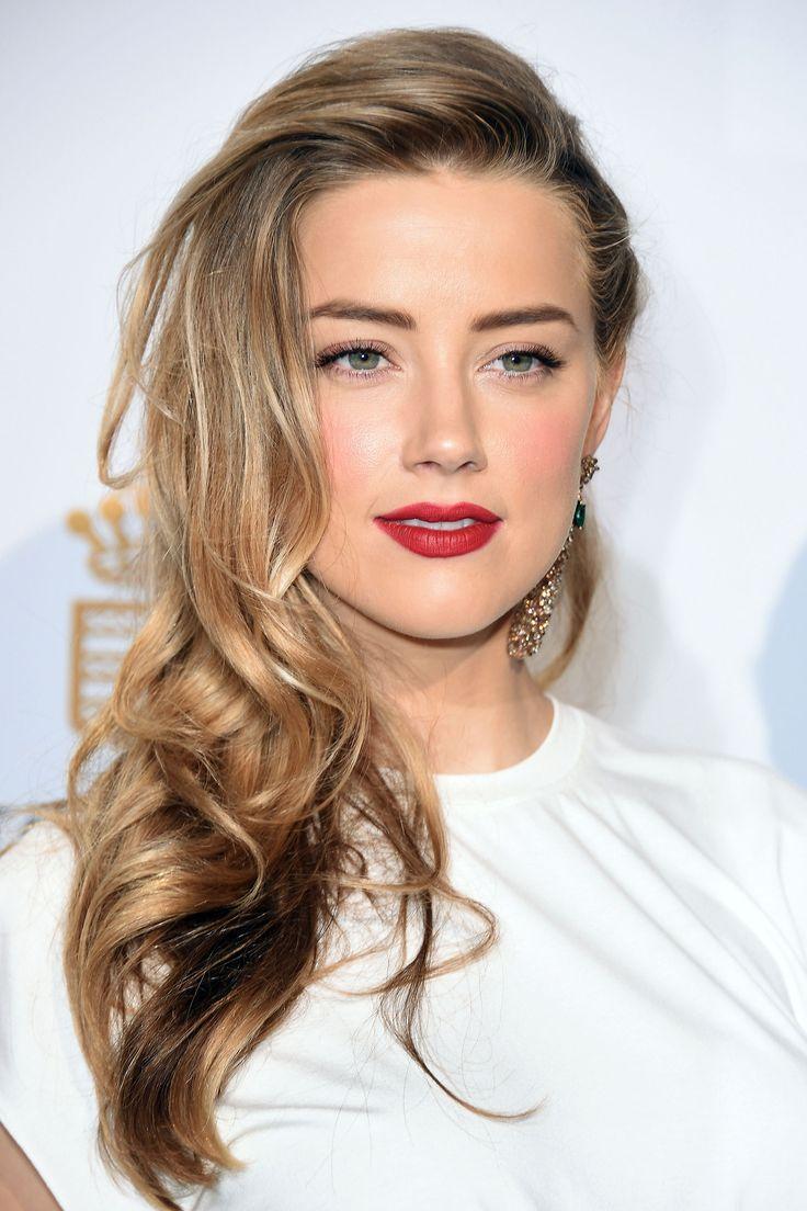 Amber Heard Hair Color Hair Colar And Cut Style