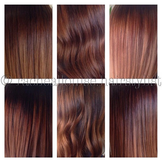 Comparison: Medium Brown on Caramel Hair Colour - Hair Colar And Cut ...