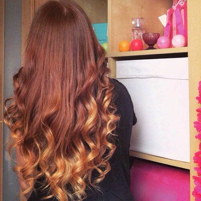 Caramel Ombre Hair Color Hair Colar And Cut Style