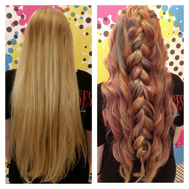 Braid Ombre Hair Hair Colar And Cut Style