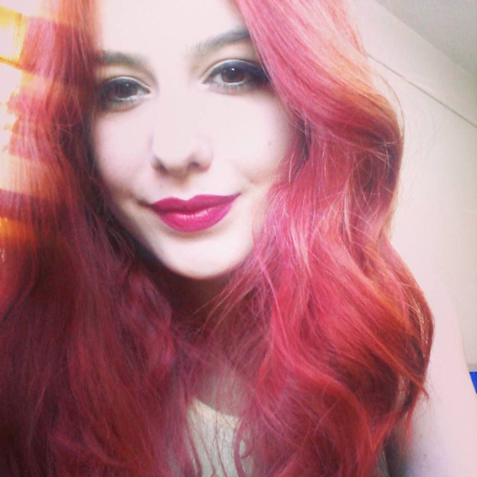 Manic Panic Red Passion Hair Colar And Cut Style