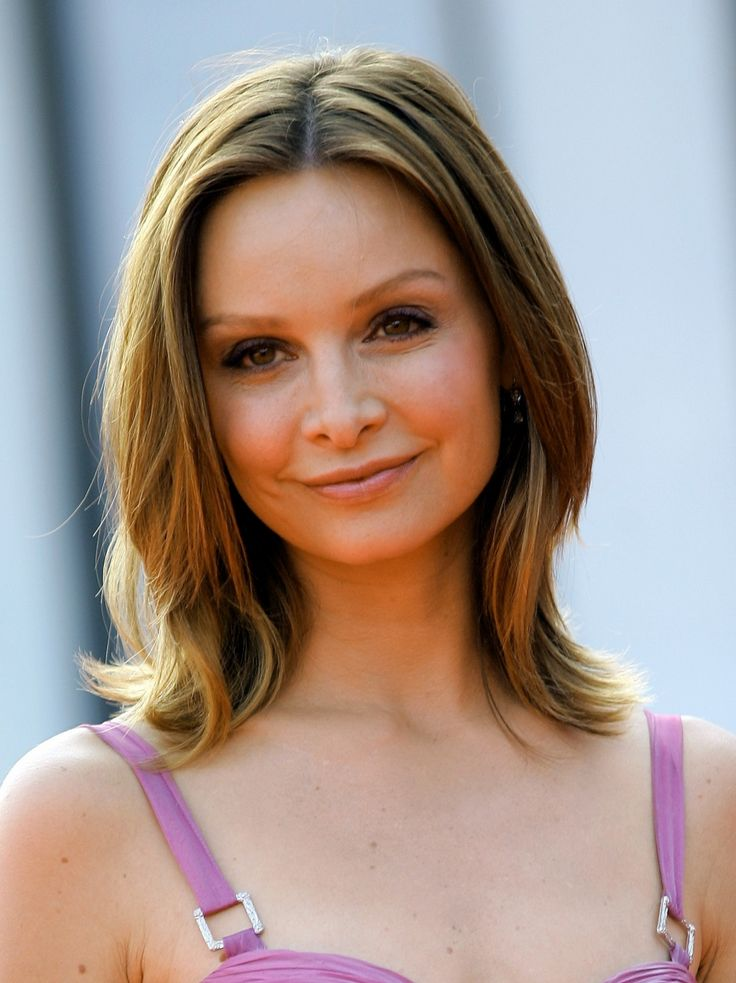 Calista Flockhart Hair Color Hair Colar And Cut Style