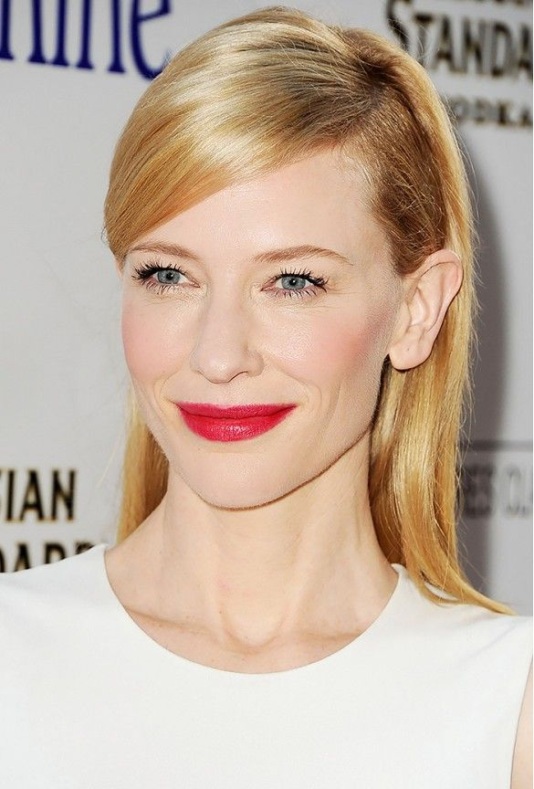 Cate Blanchett Hair Color Hair Colar And Cut Style
