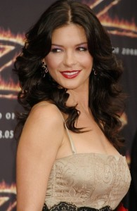 Catherine Zeta-Jones Hair Color