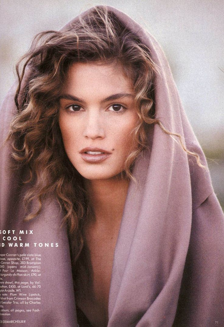 Cindy Crawford Hair Color