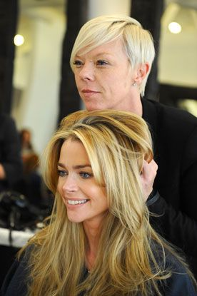 Denise Richards Hair Color Hair Colar And Cut Style