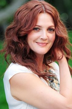 Drew Barrymore Hair Color Hair Colar And Cut Style