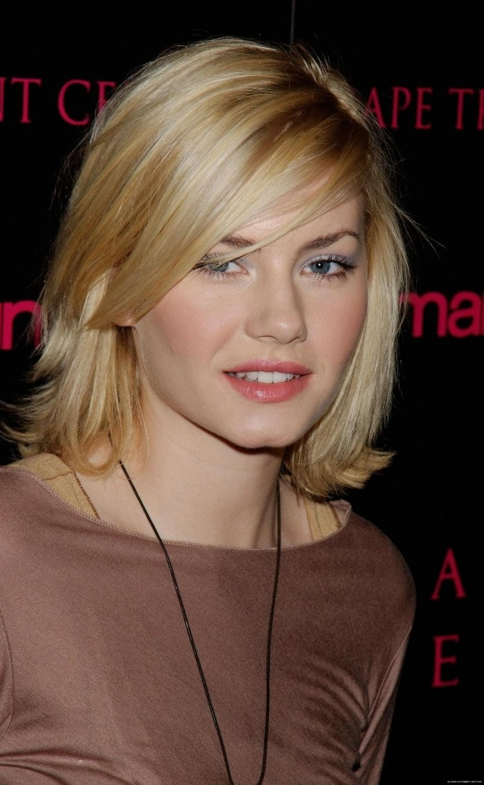 Elisha Cuthbert Hair Color Hair Colar And Cut Style