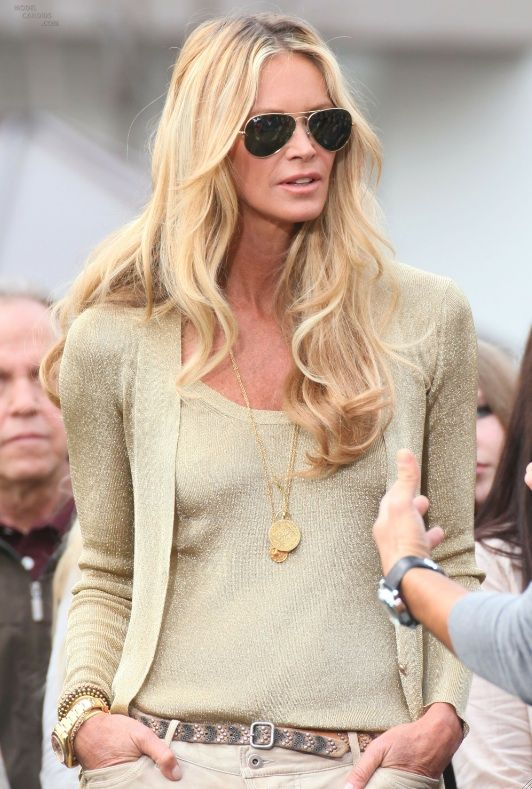 Elle Macpherson Hair Color Hair Colar And Cut Style