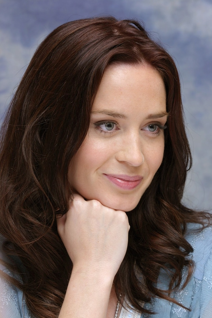 Emily Blunt Hair Color...