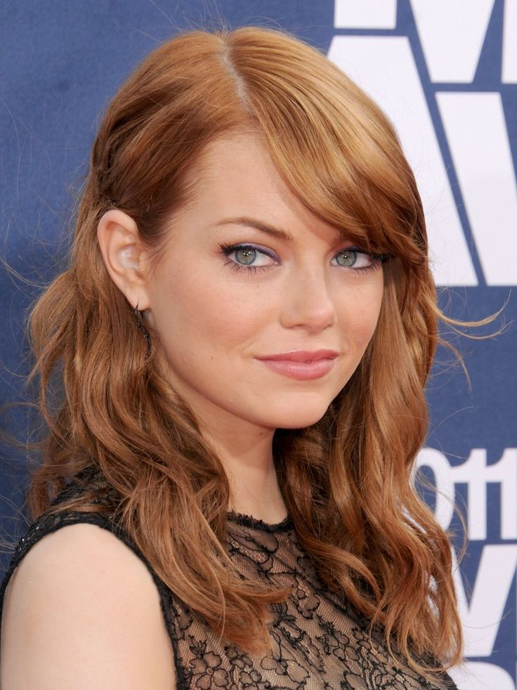 Emma Stone Hair Color Hair Colar And Cut Style