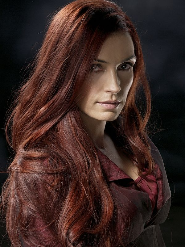 Famke Janssen Hair Color Hair Colar And Cut Style