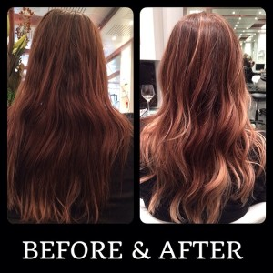 Brown Caramel Ombre Hair