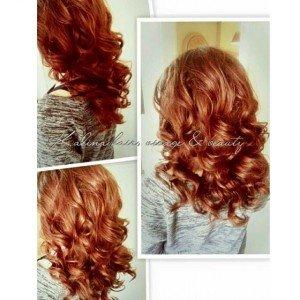 Caramel Copper Hair Color