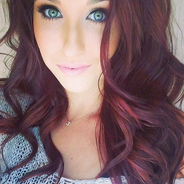 Burgundy Hair Color Hair Colar And Cut Style