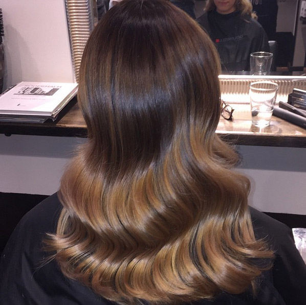 Dying brown hair blonde ombre hair colar and cut style for 2 blond salon reviews