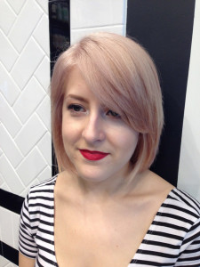Wella Illumina Rose Gold Process