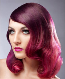 Pravana Pink-Magenta-Whild Orchid Ombre Hair Dye Formula