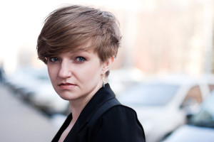 Dark Blonde Short Haircut DIY