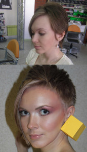 Very Short Hairstyle diy Blonde