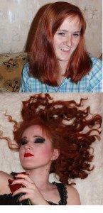Rollers Hair Style Diy