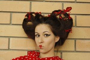 Geisha hair style diy Easy
