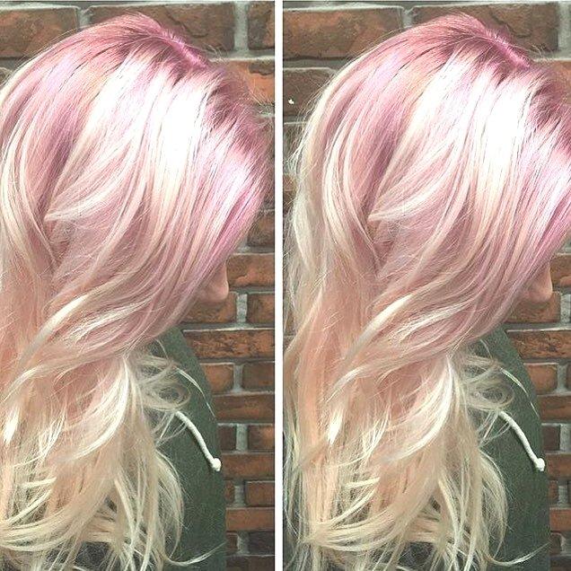 2018 Hair Color Crazy - Hair Colar And Cut Style