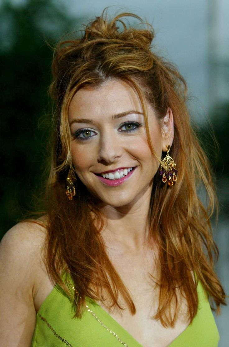Alyson Hannigan Hair Color