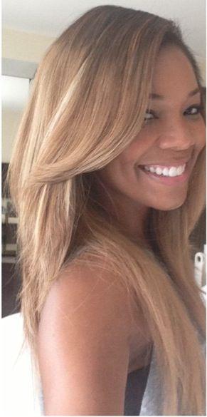 Gabrielle Union Hair Color Hair Colar And Cut Style